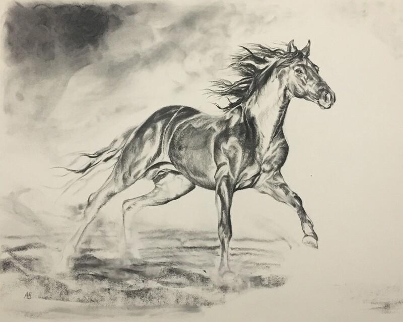 Horse Scene One