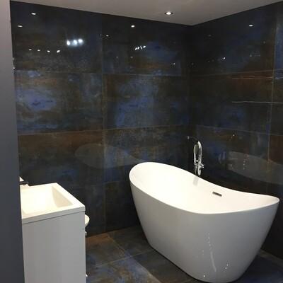 Oxide Azul Porcelain Tiles 120 x 60 cm