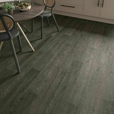 Black Elm ClicLux LVT Flooring 121.9 cm  x 17.7 cm