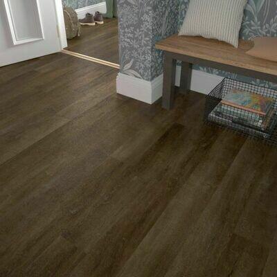 Walnut ClicLux Flooring LVT 121.9 cm  x 17.7 cm