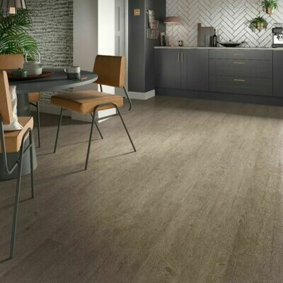 Weathered Ash ClicLux LVT Flooring  121.9 cm  x 17.7 cm