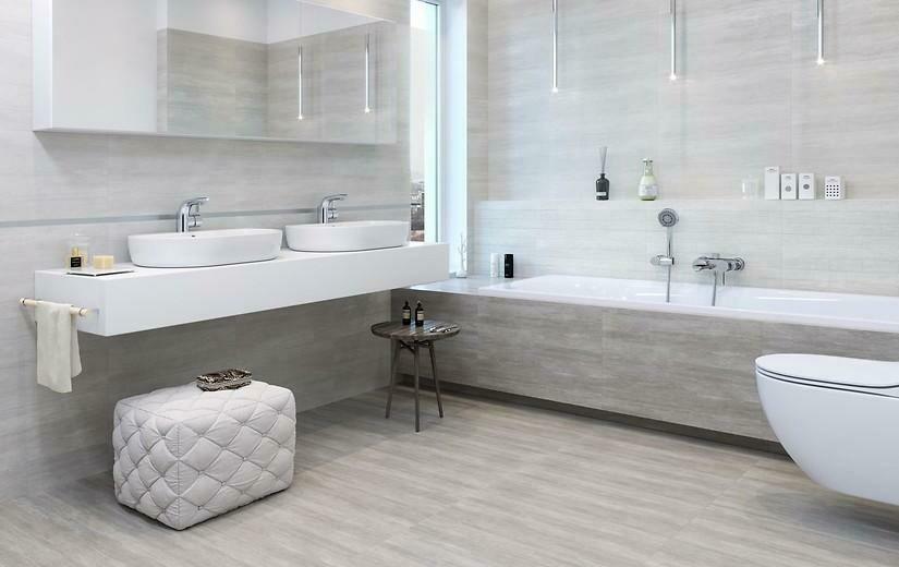 Savoy Grey Porcelain Tiles 60 x 30 cm