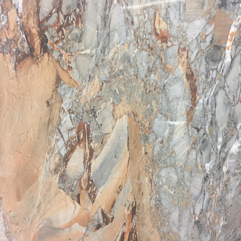 Onyx Noce Gloss Glazed Porcelain Tiles 120 x 60 cm