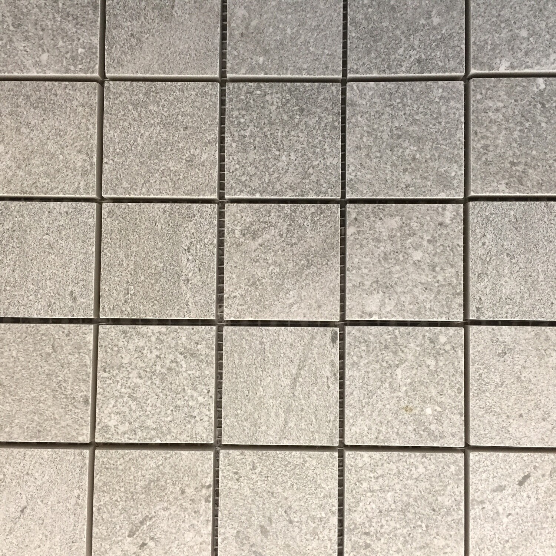 Spartia Grey R11 Porcelain Mosaic 30 x 30 cm