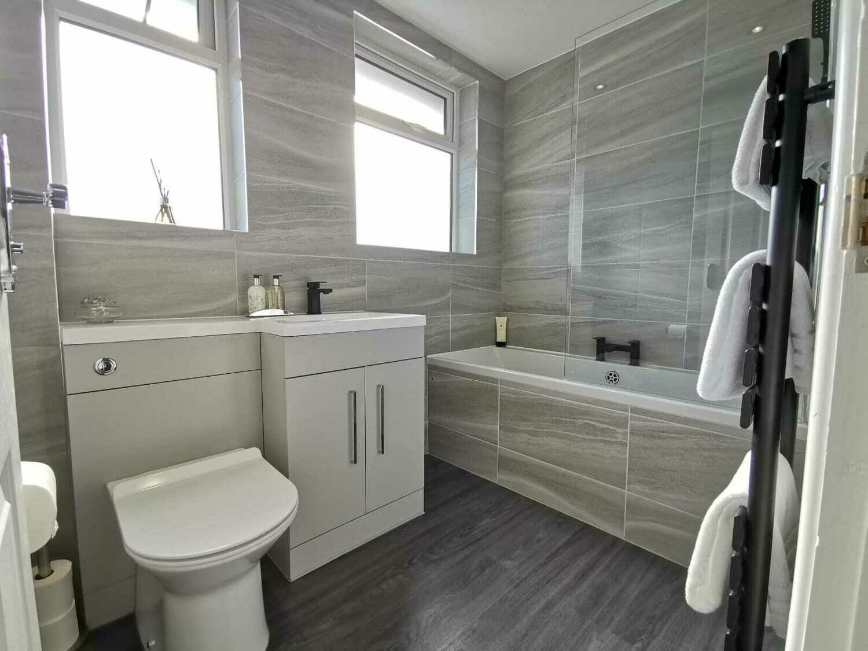 Grey Glazed Matt Porcelain Tiles 60 x 30 cm