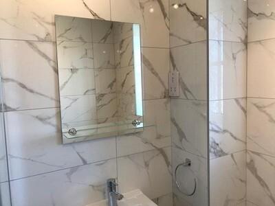 Gloss Grey Ceramic Tiles 60 x 30 cm