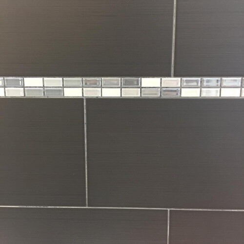 Anthracite Luna Ceramic Tiles 25 x 40 cm