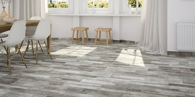 Tara Grey Ceramic Tiles 50 x 17.5 cm