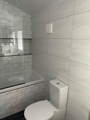White Satin Wall Tiles 60 x 30 cm