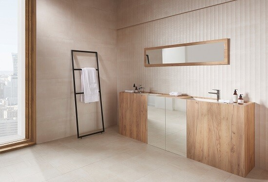 Arame Crema Tiles 25 x 70 cm
