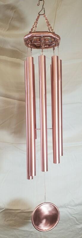 Copper Cross 8 Tube Chime