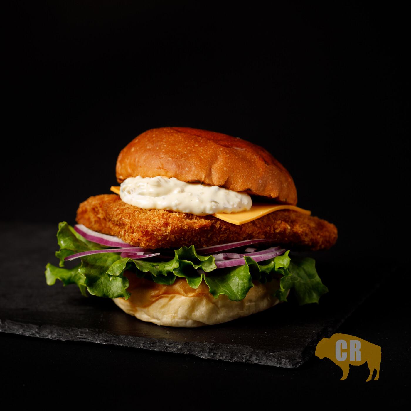 Fish Cheeseburger