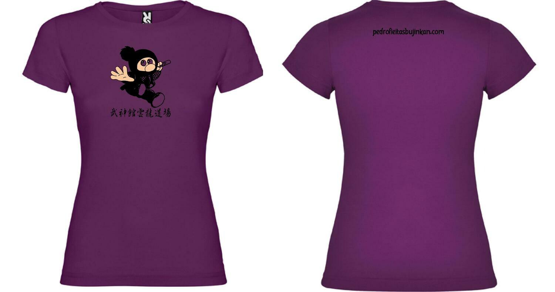 Camiseta ninja mujer