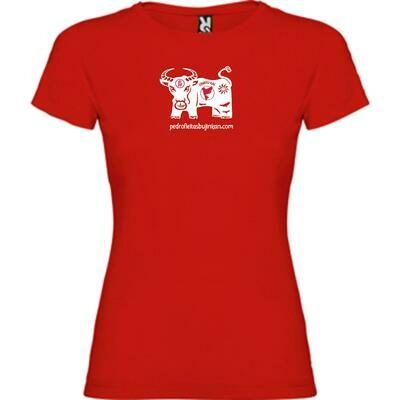 Camiseta Año del Buey mujer