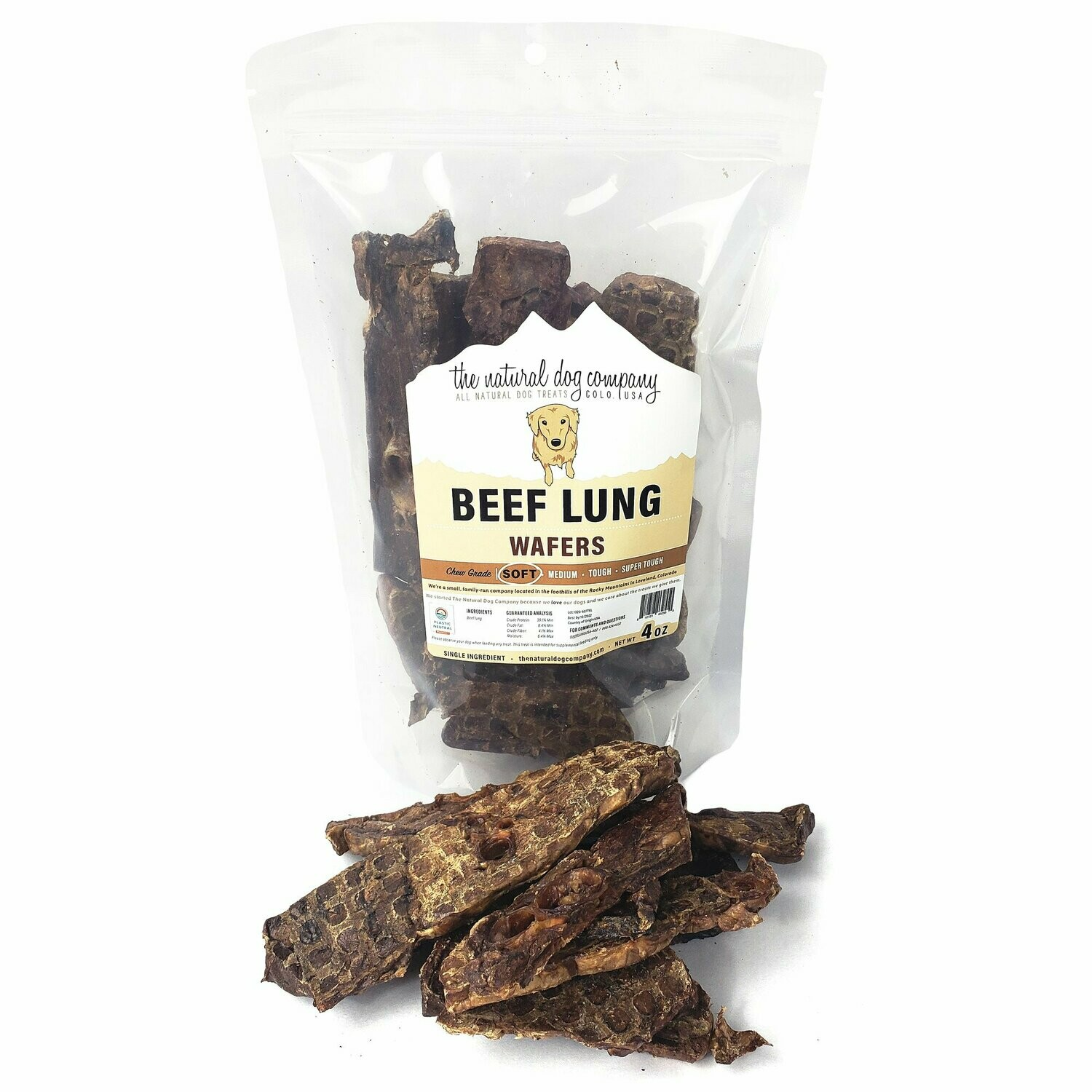 Beef Lung 4 oz