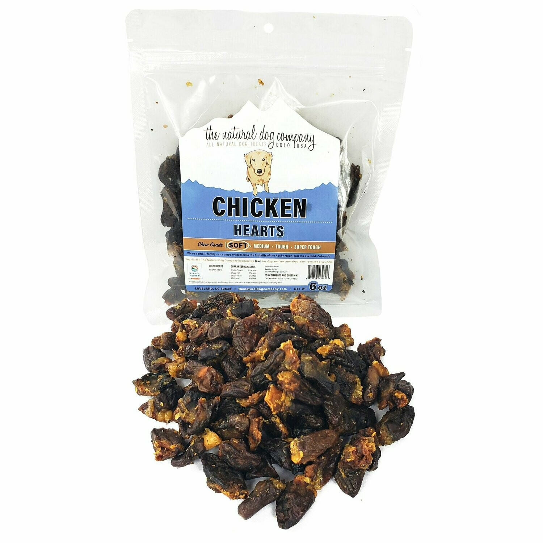 Chicken Hearts 6 oz