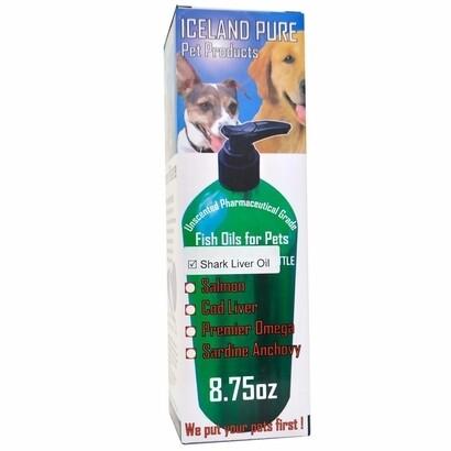 Shark Liver Oil/ Iceland Pure 8.75 oz