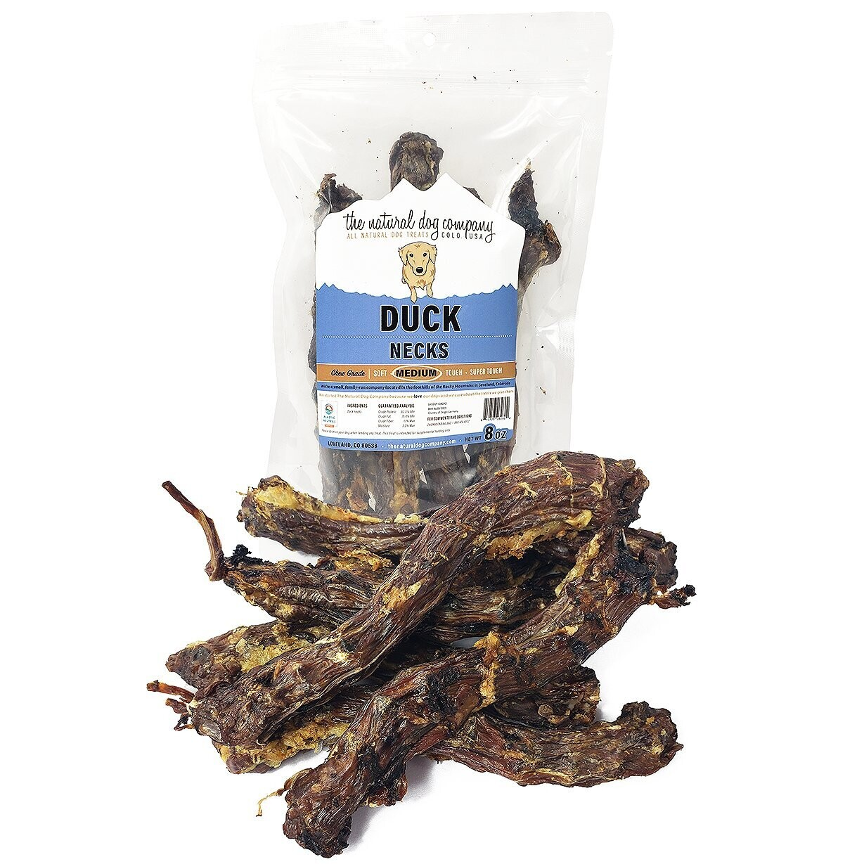 Duck Necks 8oz