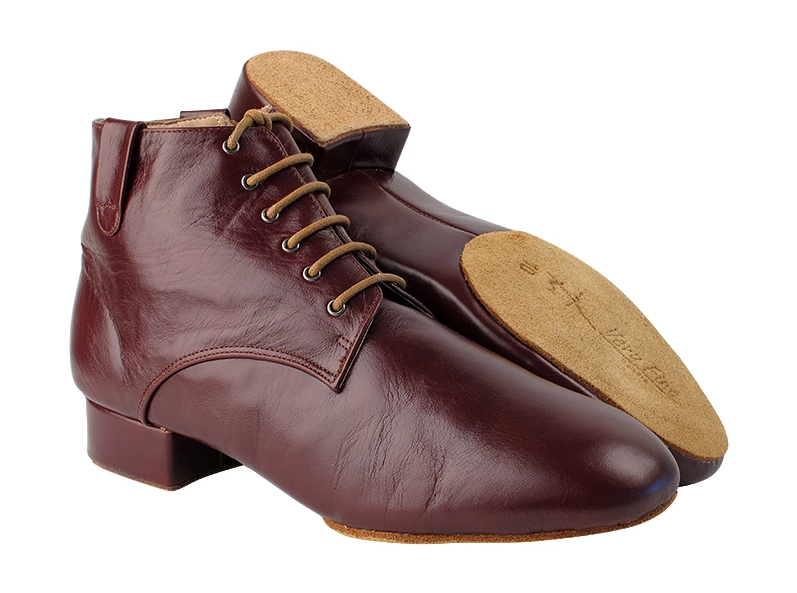 Men's Leather ¾ Dance Boot Shoe