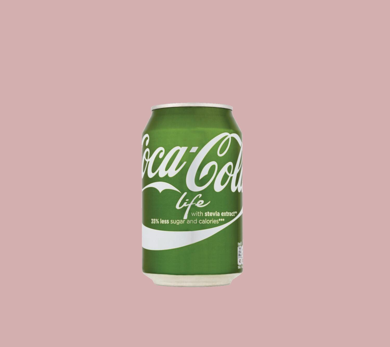 Coca-Cola Life 0,33 l puszka