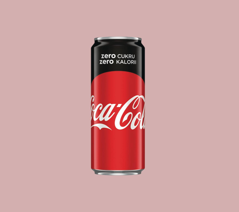 Coca-Cola Zero 0,33 l puszka