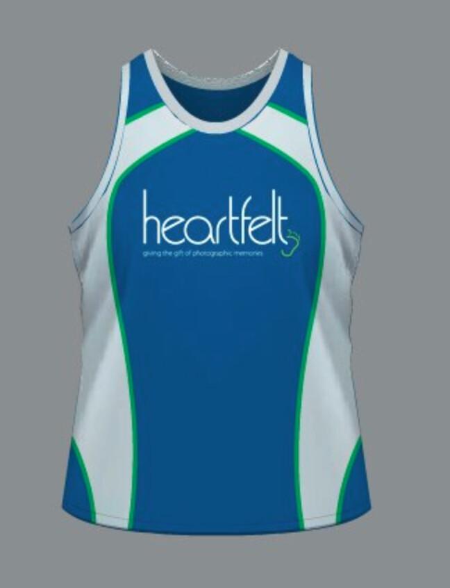 Heartfelt Running Singlet