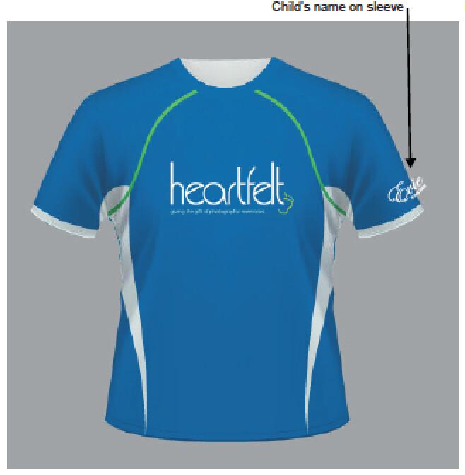 Heartfelt Running Shirt