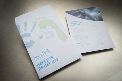 Purchase an Inkless Print Kit - Choose from Grey/Blue/Pink - Single Packs