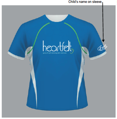 Heartfelt Running Shirt