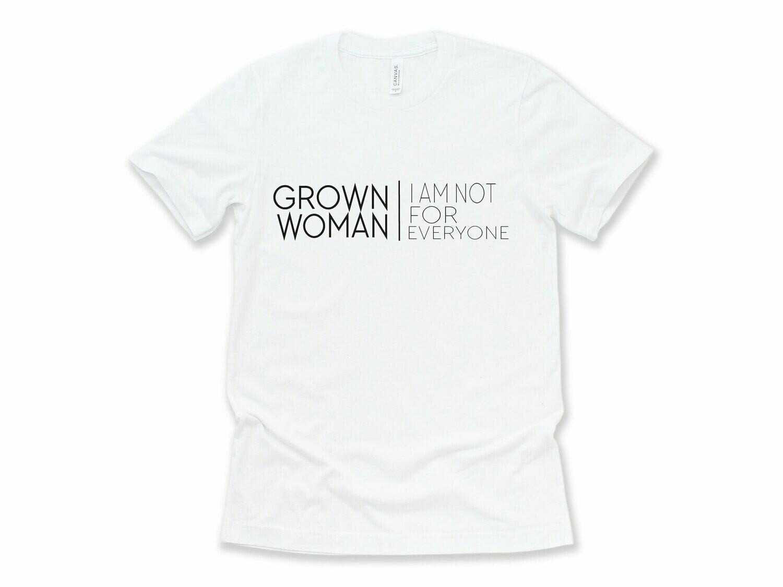 GROWN WOMAN TEE