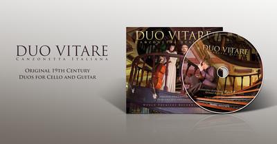 Duo Vitare Canzonetta Italiana CD-Audio
