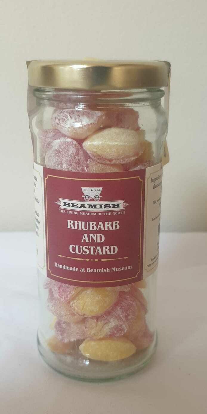 Beamish Rhubarb & Custard Sweets