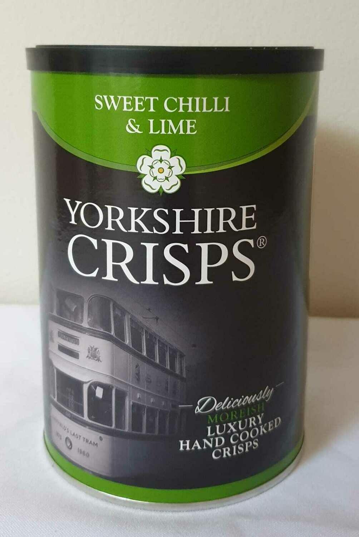 Yorkshire Crisps Sweet Chilli & Lime
