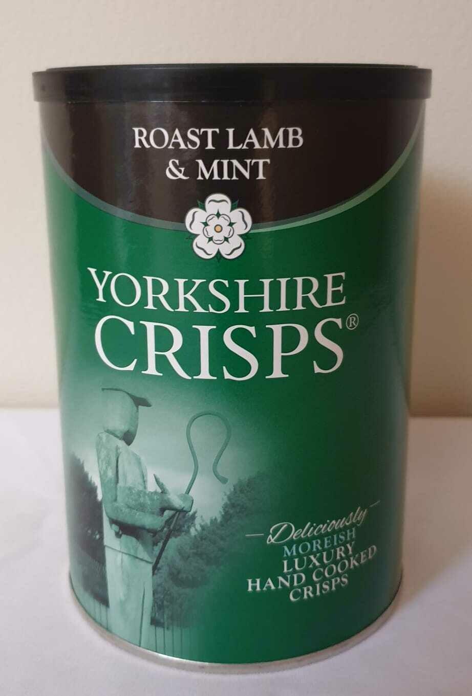 Yorkshire Crisps Roast Lamb & Mint