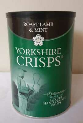 Yorkshire Crisps Roast Lamb & Mint