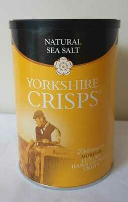 Yorkshire Crisps Natural Sea Salt
