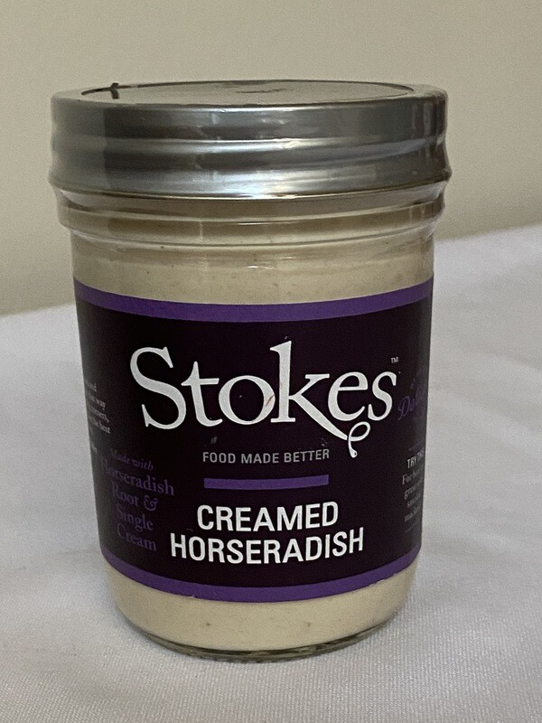 Stokes Creamed Horseradish Sauce
