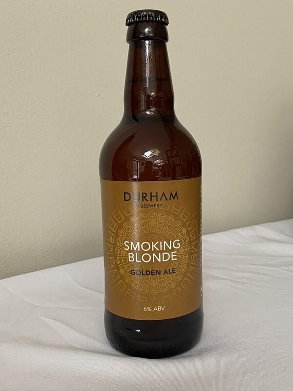 Durham Brewery Smoking Blonde (Golden Ale) 6%ABV