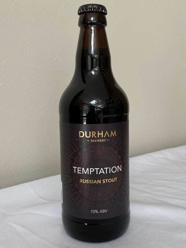 Durham Brewery Temptation ( Russian Stout) 10% ABV