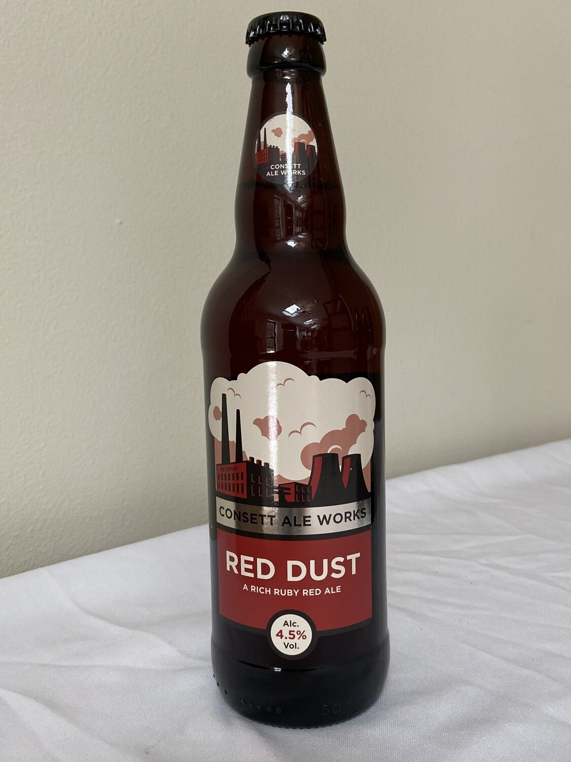 Consett Ale Works Red Dust (A rich ruby red ale) 4.5% vol