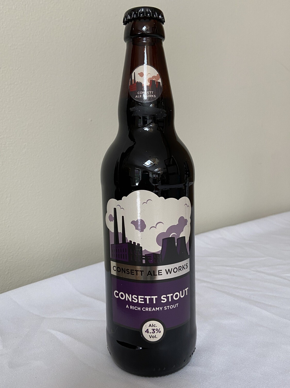 Consett Ale Works Consett Stout Alc. 4.3% Vol
