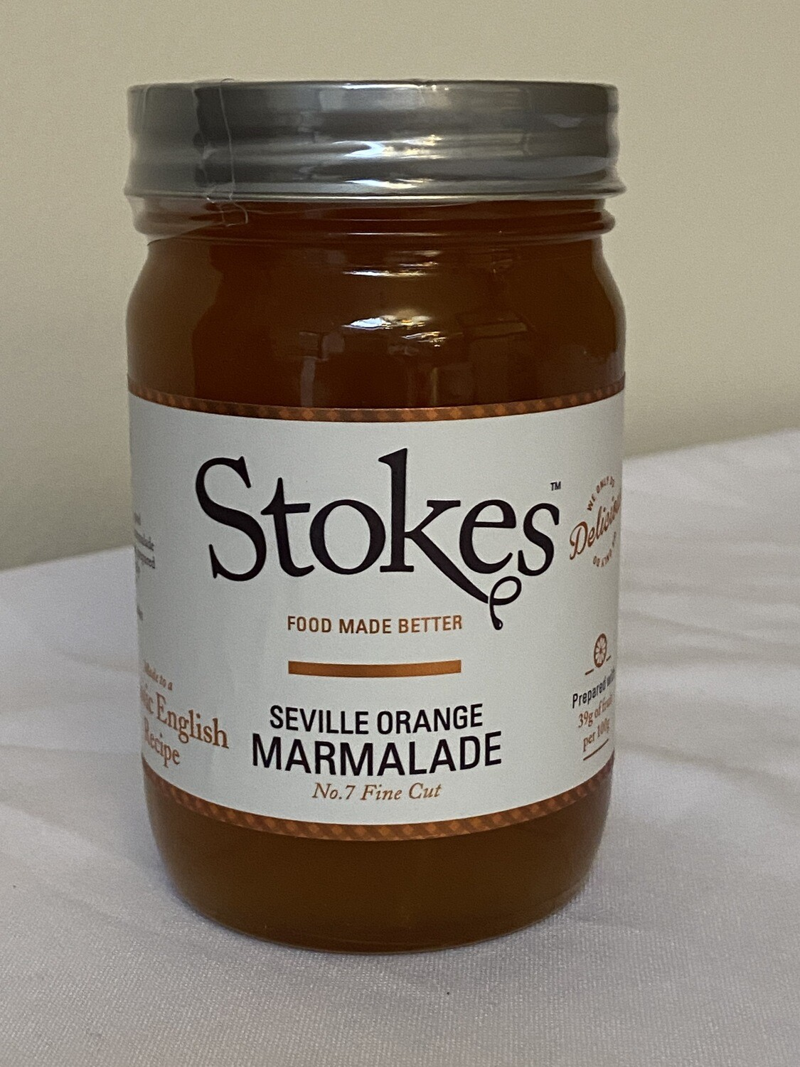 Stokes Seville Orange Marmalade Fine Cut