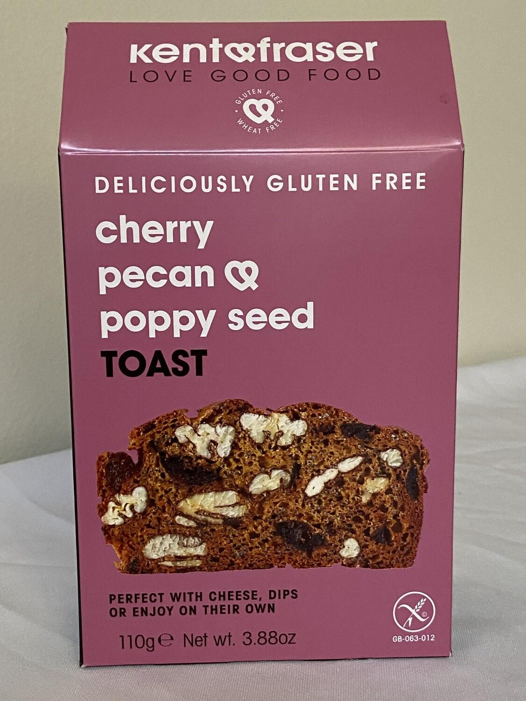 Cherry Pecan & Poppy Seed Toast
