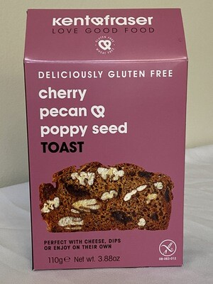 Cherry Pecan & Poppy Seed Toast