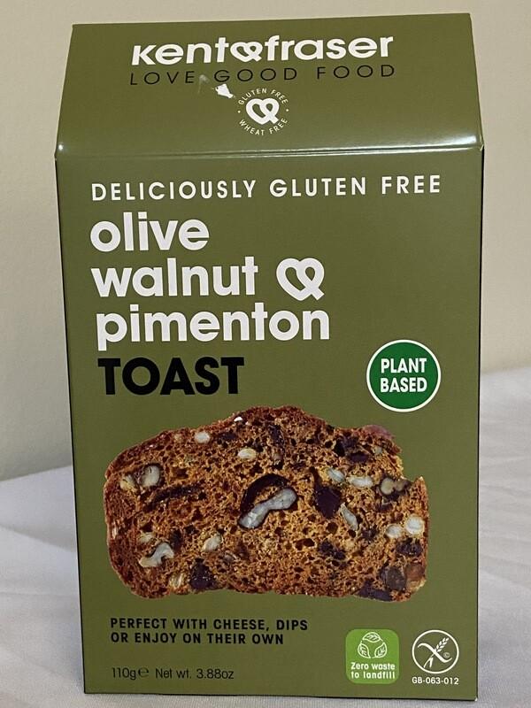 Olive Walnut & Pimenton Toast