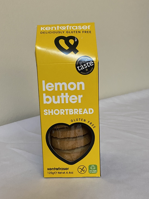 Lemon Butter Shortbread