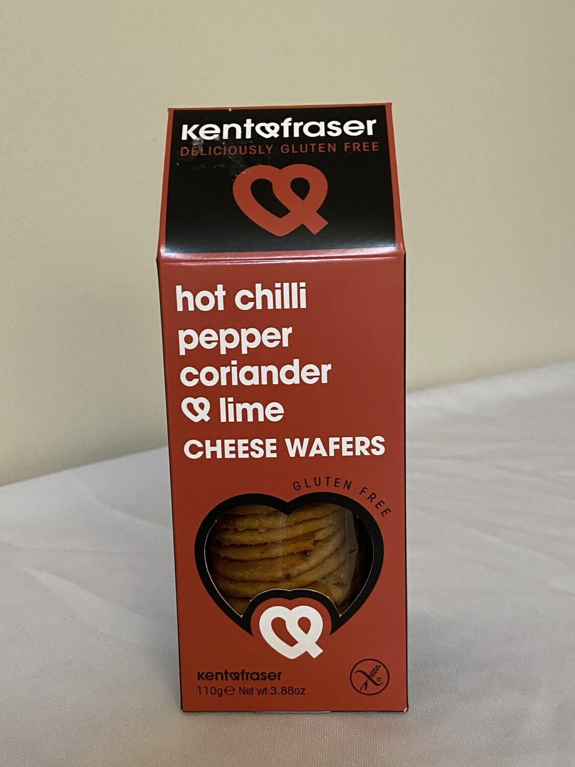 Hot Chilli Pepper Coriander & Lime Cheese Wafers