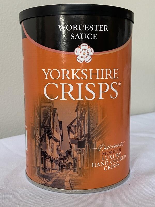 Yorkshire Crisps Worcester Sauce