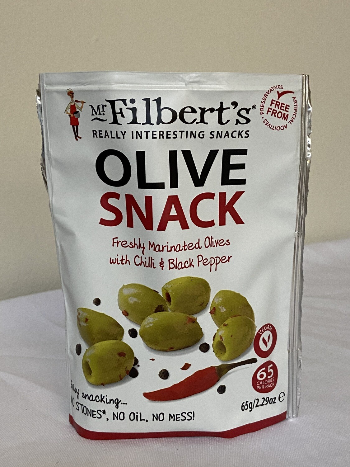 Olive Snack with Chilli & Black Pepper