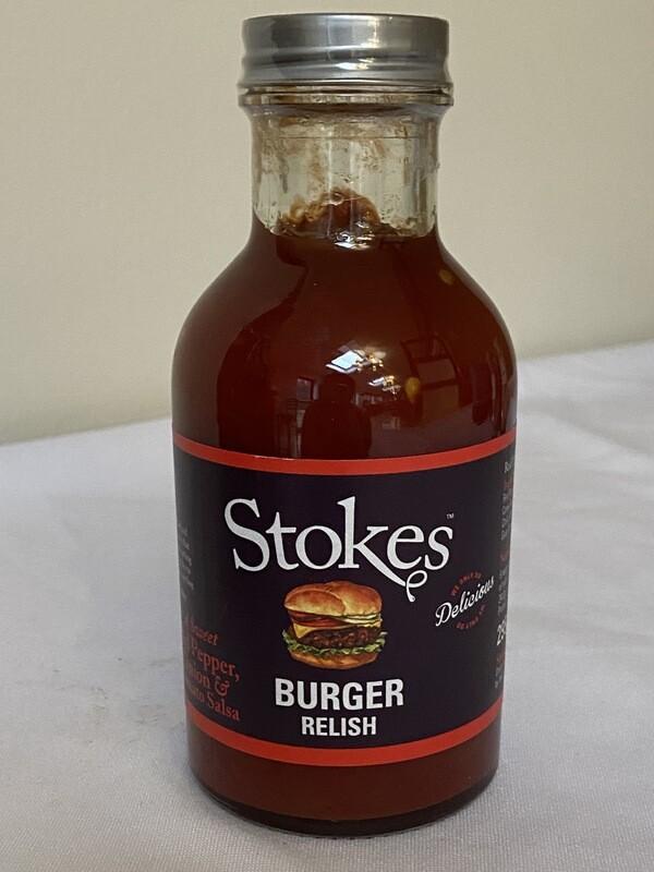 Stokes Burger Relish